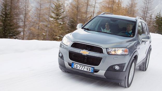 El Aveo sedán y la Captiva de Chevrolet reciben 5 estrellas del EuroNCAP