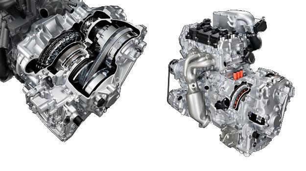 Nissan presenta nueva generación de transmisión XTRONIC CVT