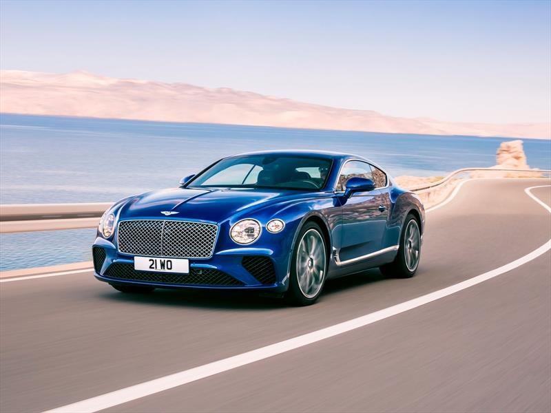 Bentley Continental GT 2018, todo nuevo en el hermoso coupé