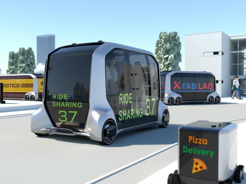 Toyota e-Palette Concept es un ejemplo de movilidad futurista