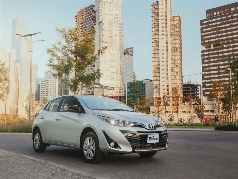Manejamos el Toyota Yaris Hatchback 2018