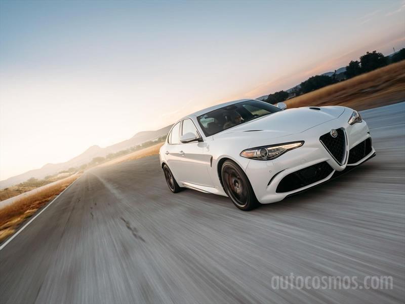 Alfa Romeo Giulia Quadrifoglio es un misil italiano