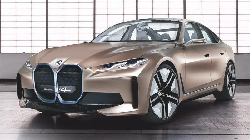 BMW Concept i4 visualiza a a un futuro sedán eléctrico de alto performance
