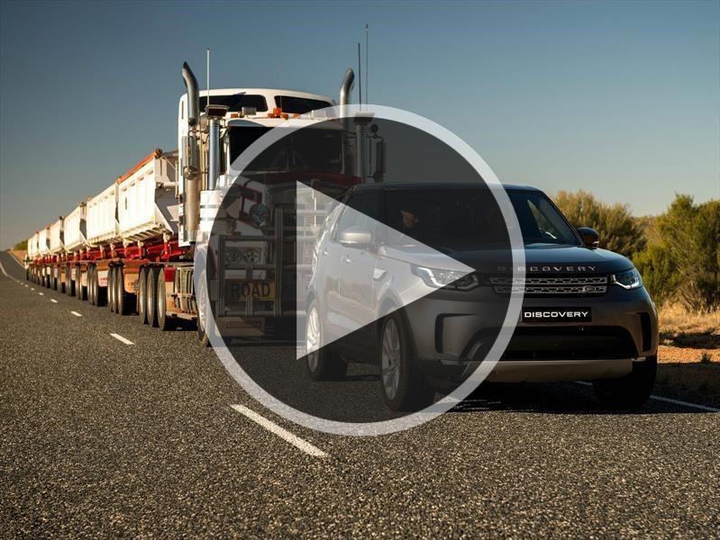 Video: Land Rover Discovery versus 120 toneladas