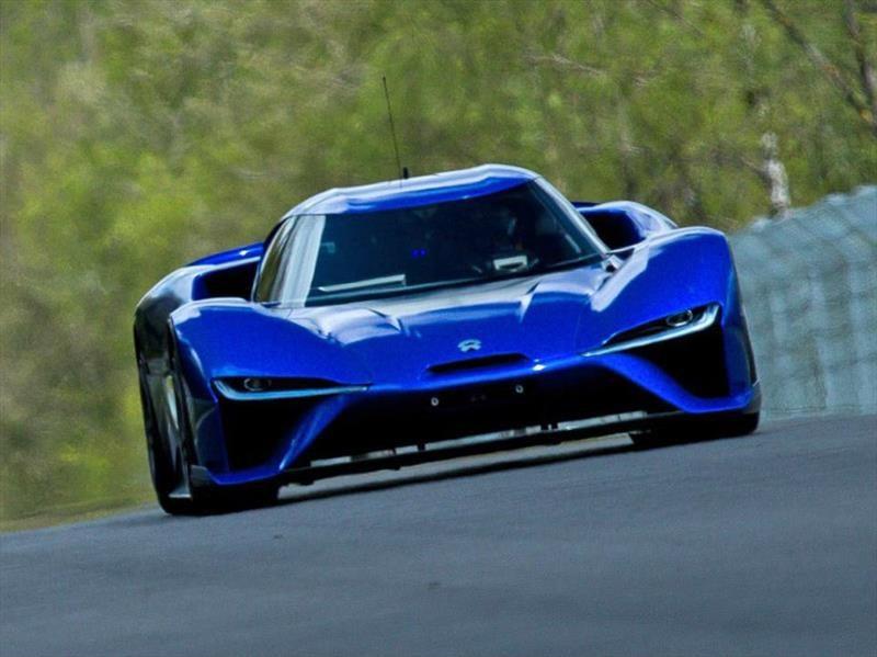 NIO EP9 impone récord del auto más rápido en Nürburgring