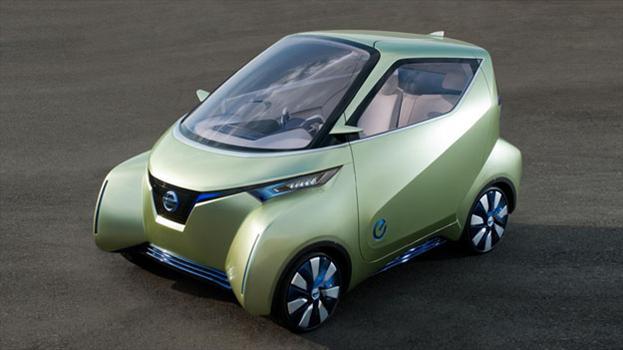 Nissan PIVO 3 Concept debuta en el Salón de Tokio 2011
