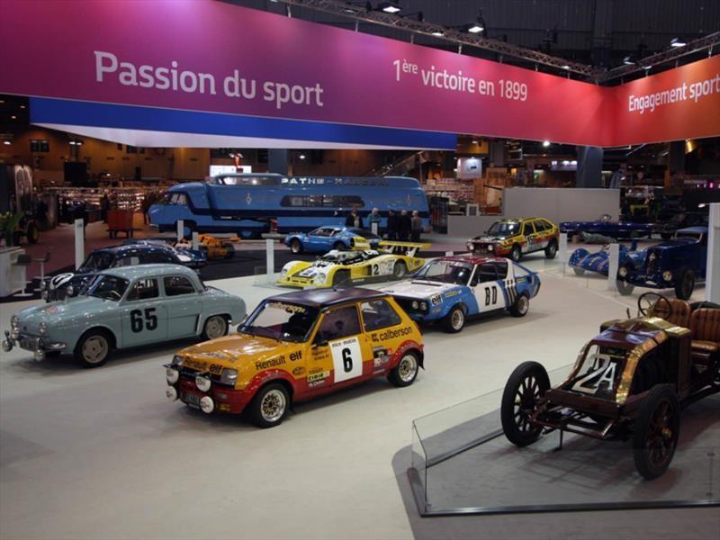 Renault celebra su 120 aniversario en París