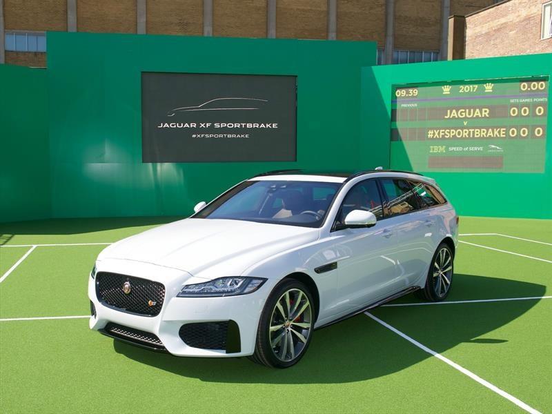 El nuevo Jaguar XF Sportbrake debuta en la Catedral