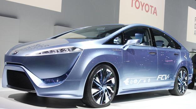 Toyota FCV-R: Raro pero rendidor