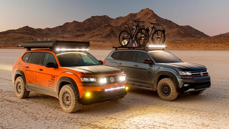 Volkswagen Atlas eleva sus capacidades para el off-road
