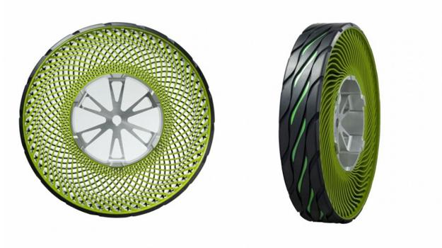 Bridgestone desarrolla nueva llanta sin aire