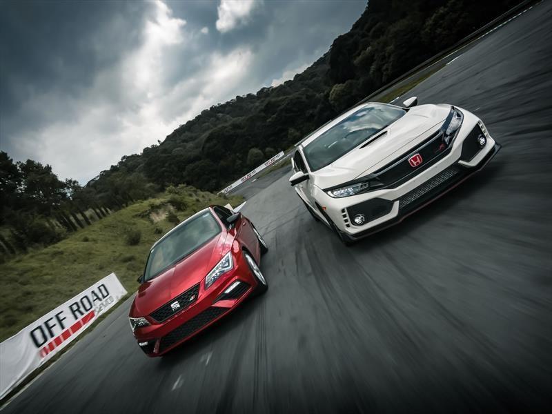Comparativa: SEAT León CUPRA vs Honda Civic Type R