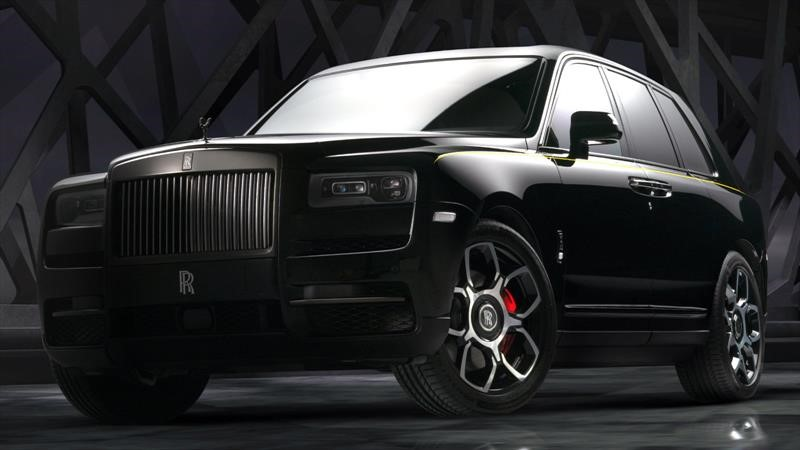 Rolls-Royce Cullinan Black Badge, tuning de fábrica