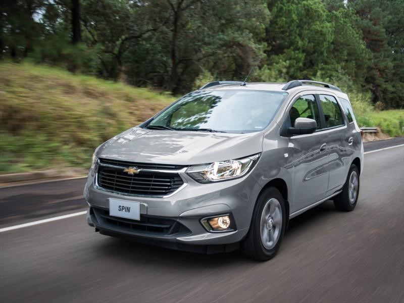 Chevrolet Spin 2019 En Chile Nuevo Diseno Y Mas Equipamiento
