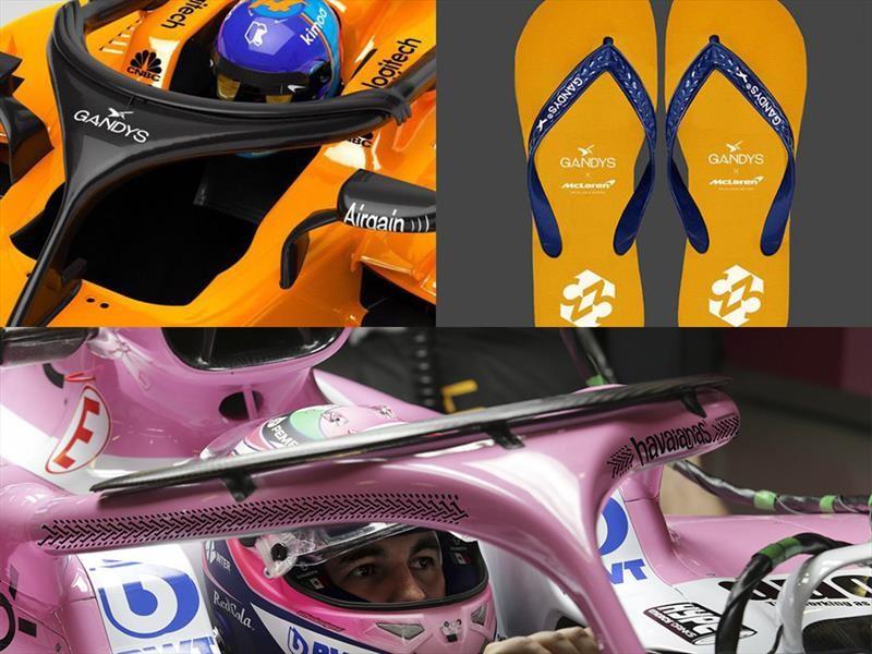F1 se burla de su nuevo Halo