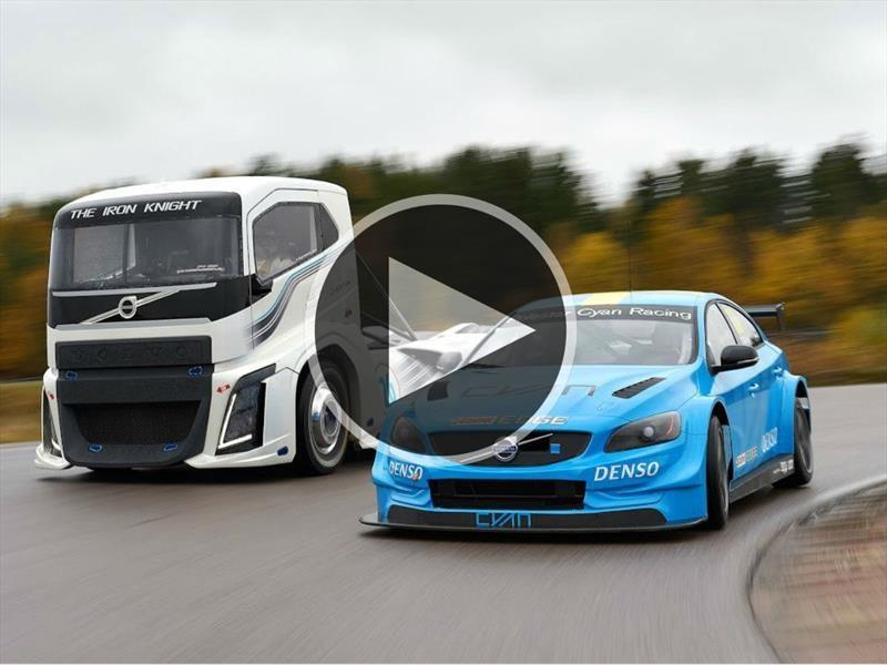 Volvo S60 Polestar Vs El camión más rápido del mundo ¿quién gana?