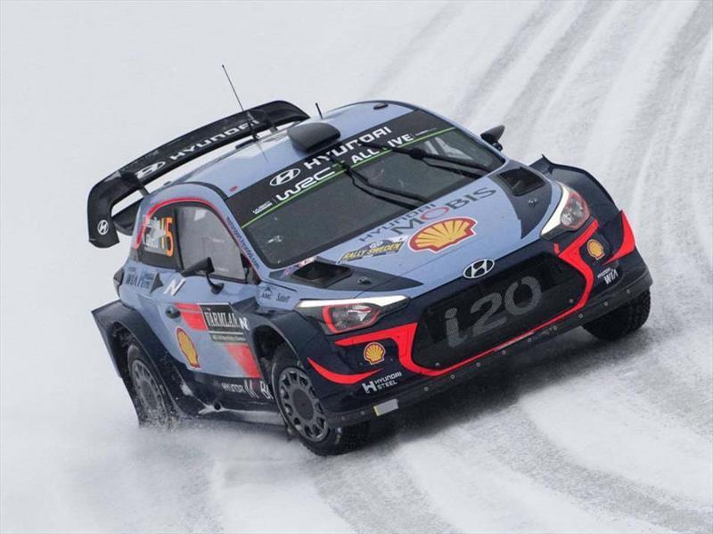 Neuville gana en el Rally de Suecia 2018