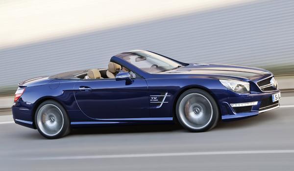 Mercedes-Benz SL65 AMG en el Salón de Nueva York 2012