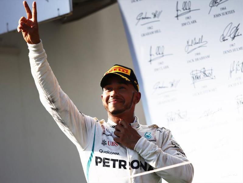 Lewis Hamilton es el ganador del GP de Hungría 2018