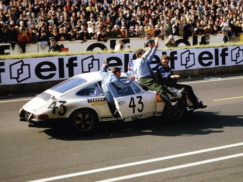 Porsche 911 es el auto con más triunfos y participaciones en las 24 Horas de Le Mans