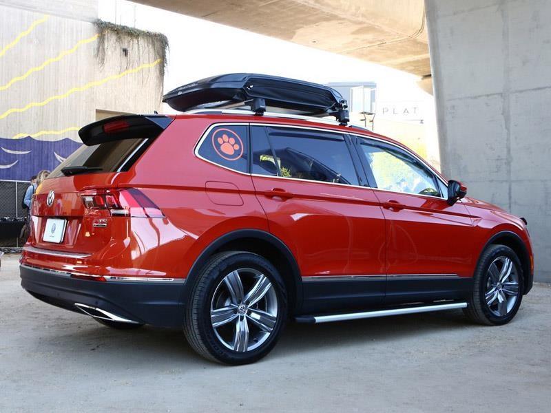 Volkswagen Tiguan Accesories Concept, la crossover más perruna