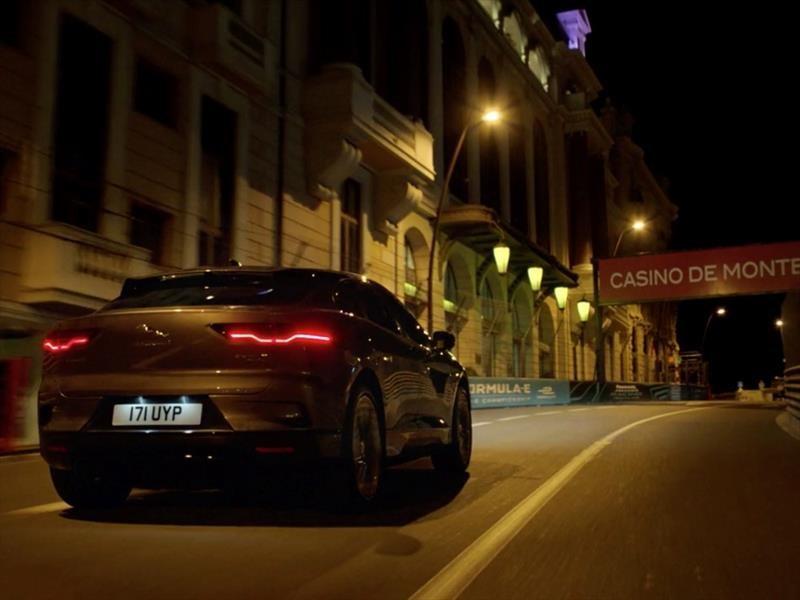 Jaguar I-Pace recorre las calles de Mónaco