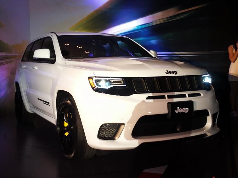 Jeep Grand Cherokee Trackhawk 2018 llega a México en $1,849,900 pesos