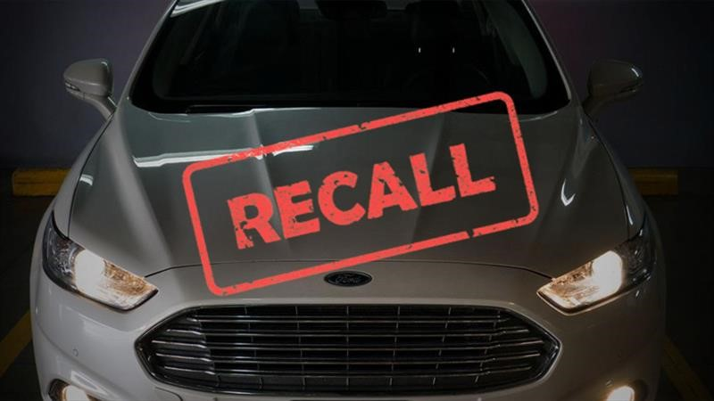 Recall Ford Mondeo
