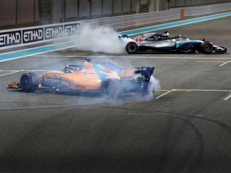 F1 GP de Abu Dhabi 2018: Hamilton no dejó nada al resto