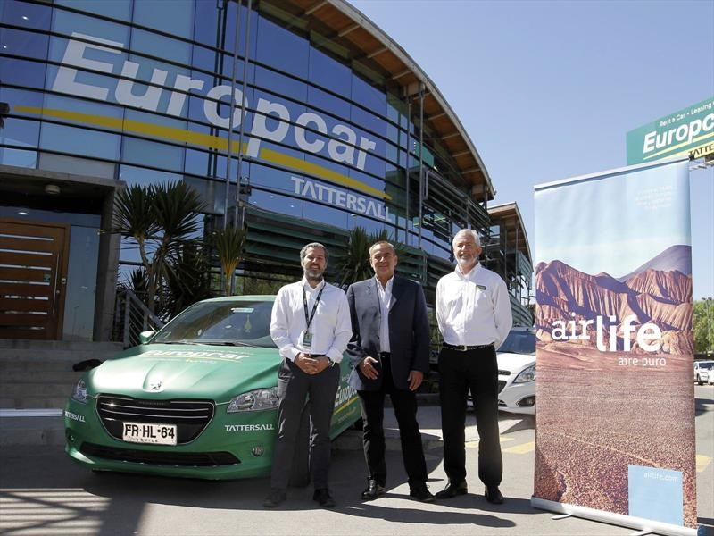 Europcar Tattersall purifica sus autos con Airlife