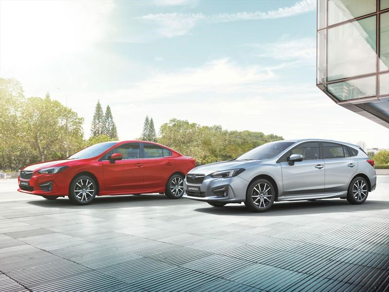 Subaru Impreza 2017 se presenta