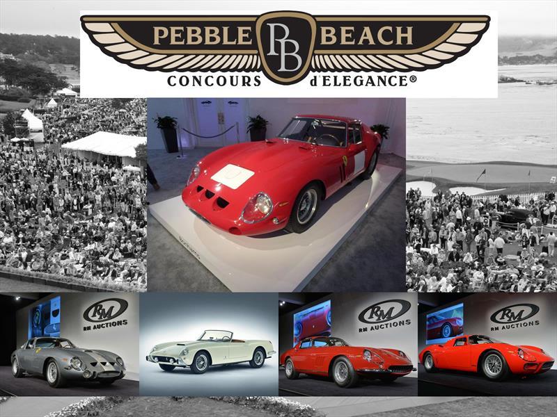 Top 10: Los autos más caros de Pebble Beach 2014