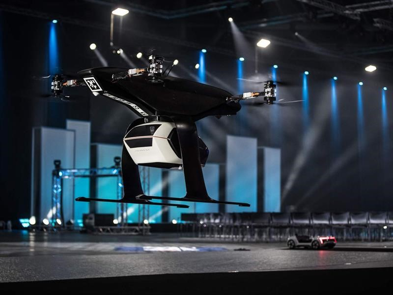 Audi Pop.Up Next, el futuro de la movilidad urbana