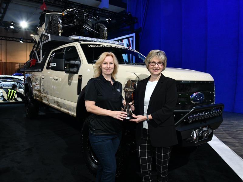 Ford F-Series se lleva el galardón al Hottest Truck del SEMA Show 2017