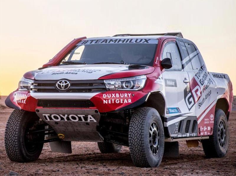 Dakar 2018: Toyota ya tiene todo preparado