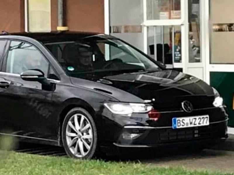 Volkswagen hace pruebas al Golf MK8