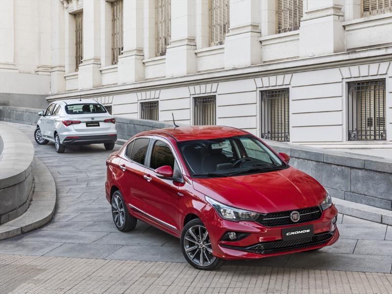 Fiat Cronos desembarca finalmente en Chile