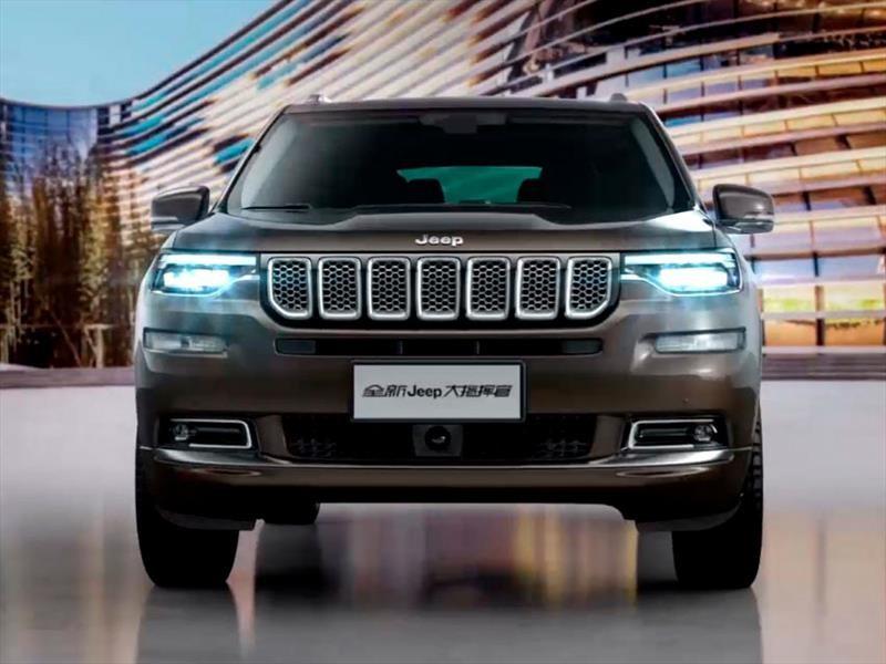 Jeep Wagoneer 2018 >> Jeep Grand Commander 2019, un nuevo SUV para 7 pasajeros