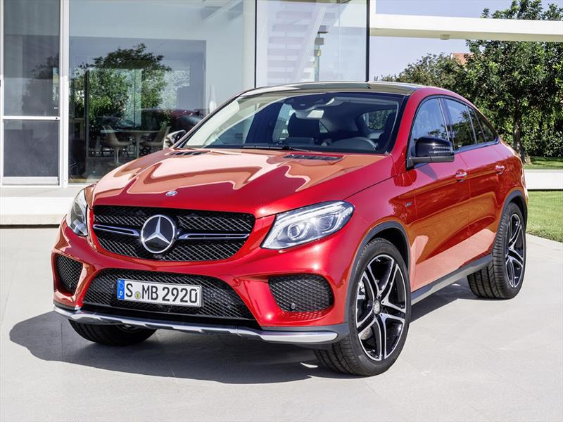 Mercedes Benz Gle Coupe 2016 La Respuesta Al Bmw X6 Autocosmos Com