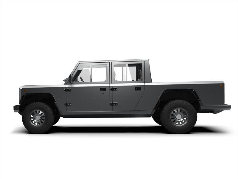 Bollinger B2 es una ingeniosa pickup 100 por ciento eléctrica