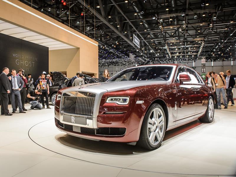 Rolls-Royce Ghost Serie II, se actualiza el pequeño de la marca
