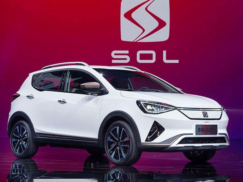 SOL E20X es el SUV eléctrico desarrollado por Volkswagen y JAC