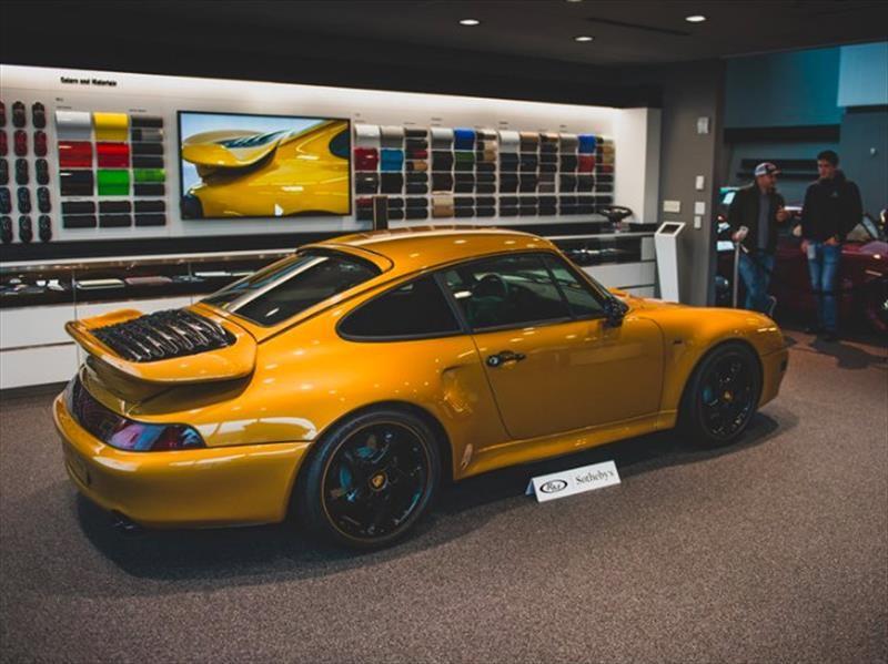 Porsche 911 (993) Turbo Project Gold, el precio de la historia