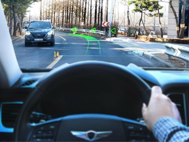 Hyundai crea sistema de navegación de realidad aumentada