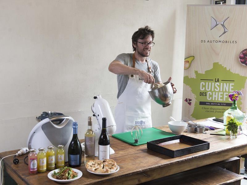 DS participó del ciclo Cuisine des Chefs