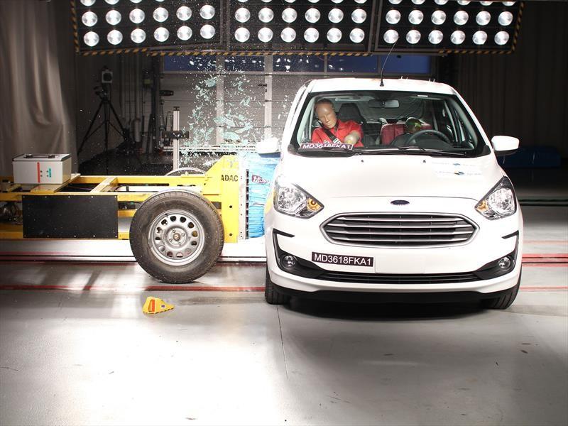 LatinNCAP probó al Ford Ka