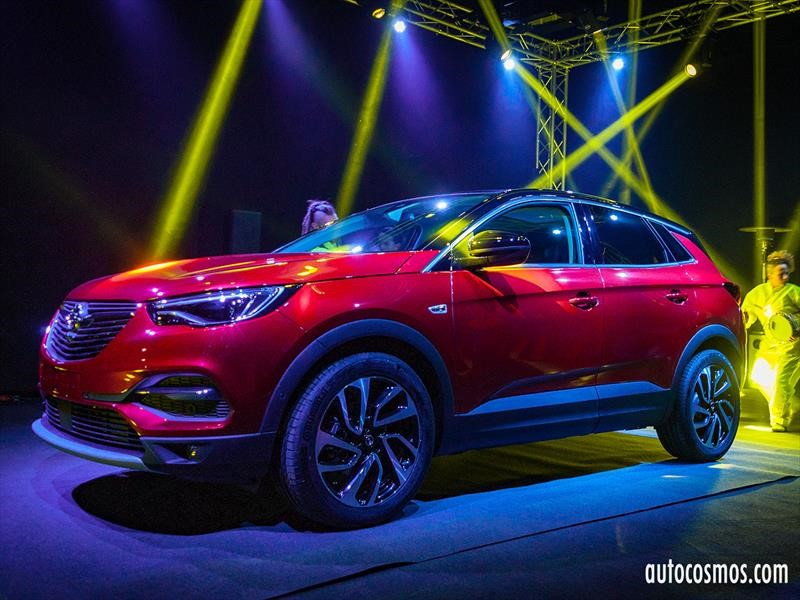 Opel Grandland X 2019 en Chile, la familia completa