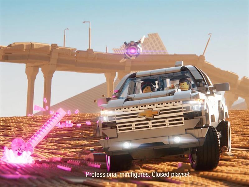 Chevrolet Silverado 2019 es la nueva protagonista en la segunda película de LEGO