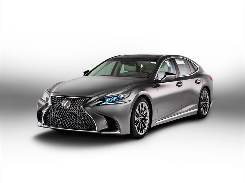Lexus LS 2018, el gran sedán nipón evoluciona