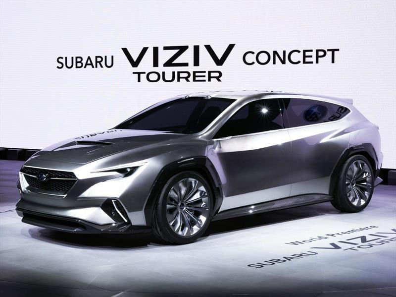 Subaru Viziv Tourer Concept, así serán futuras Station Wagon de la marca